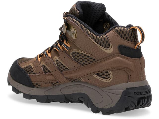 Merrell Moab 2 Mid Waterproof Shoes Kids earth